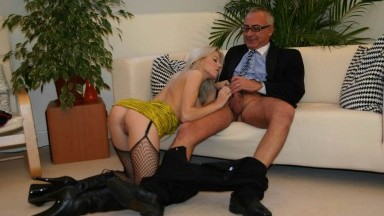 Old man porn - old and young fuck mainly blonde woman