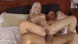 Russian whore riding old man