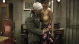 Old army officers abuse young sluts