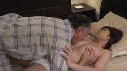 Censored - Chinese old man pounding fragile asian chick